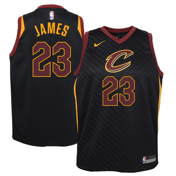 Camiseta cfb3 C253 LeBron James, Cleveland Cavaliers - Statement