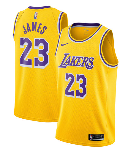 Camiseta cfb3 C441 LeBron James, Los Angeles Lakers 2018/19 - Icon