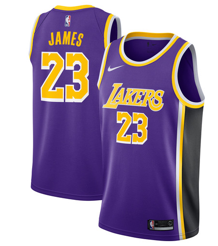 Camiseta cfb3 C442 LeBron James, Los Angeles Lakers 2018/19 - Statement