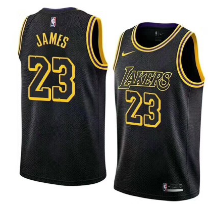 Camiseta cfb3 C444 LeBron James, Los Angeles Lakers - City Edition