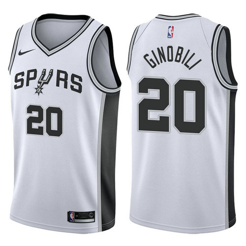 Camiseta cfb3 C743 Manu Ginobili, San Antonio Spurs - Association