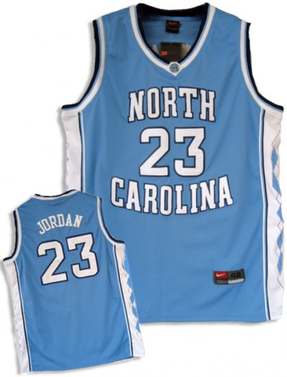 Camiseta cfb3 C855 Michael Jordan, North Carolina [Azul]