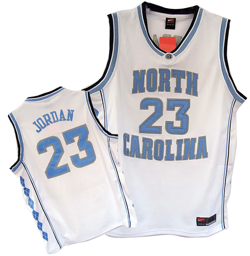 Camiseta cfb3 C856 Michael Jordan, North Carolina [Blanca]