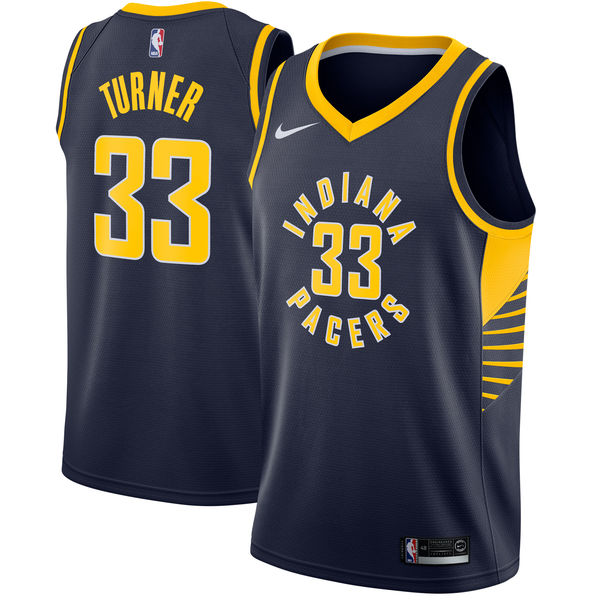Camiseta cfb3 C359 Myles Turner, Indiana Pacers - Icon