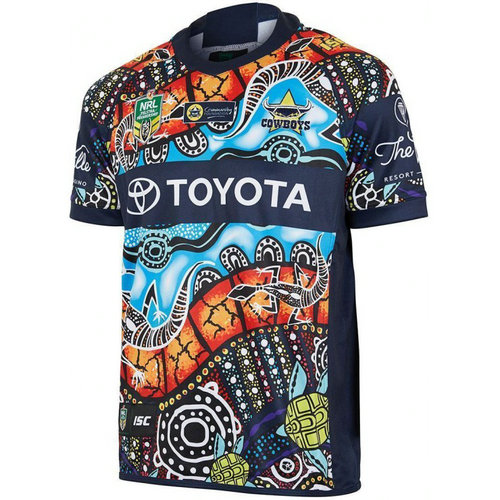 Camiseta cfb3 C2768 North Queensland Cowboys – NRL Indigenous S/S 2018