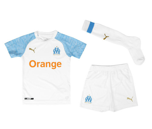 Camiseta cfb3 C1969 Olympique Marsella 1ª Equipación 2018/19 Kit Junior