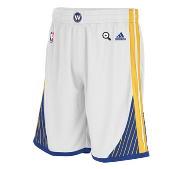 Camiseta cfb3 C2685 Pantalones Golden State Warriors [Blanco]