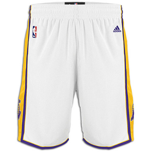 Camiseta cfb3 C2705 Pantalones Los Angeles Lakers [Blanco]