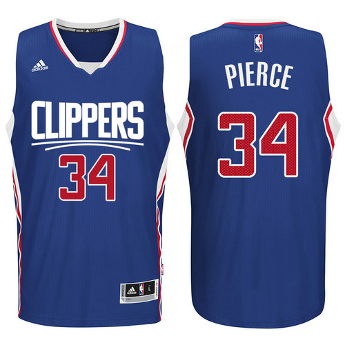 Camiseta cfb3 C406 Paul Pierce, Los Angeles Clippers 2015 - Blue