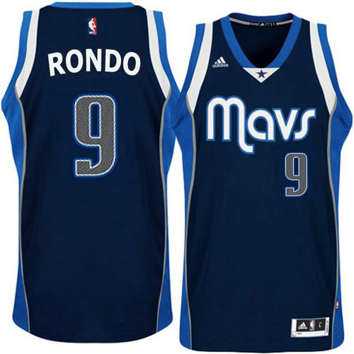 Camiseta cfb3 C478 Rajon Rondo, Dallas Mavericks - Azul