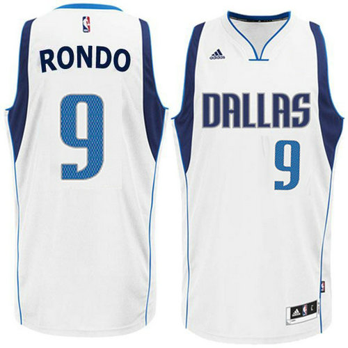 Camiseta cfb3 C479 Rajon Rondo, Dallas Mavericks - Blanco