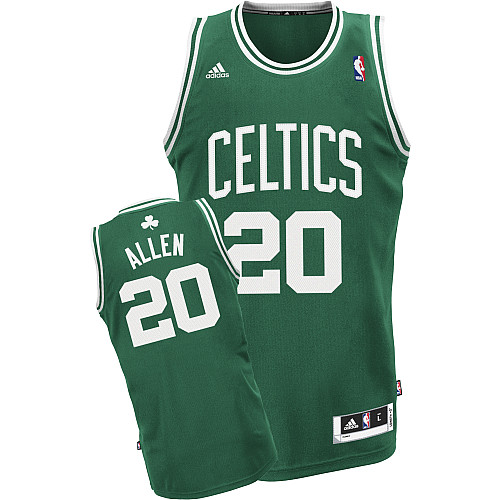 Camiseta cfb3 C132 Ray Allen Boston Celtics [Verde y blanca]
