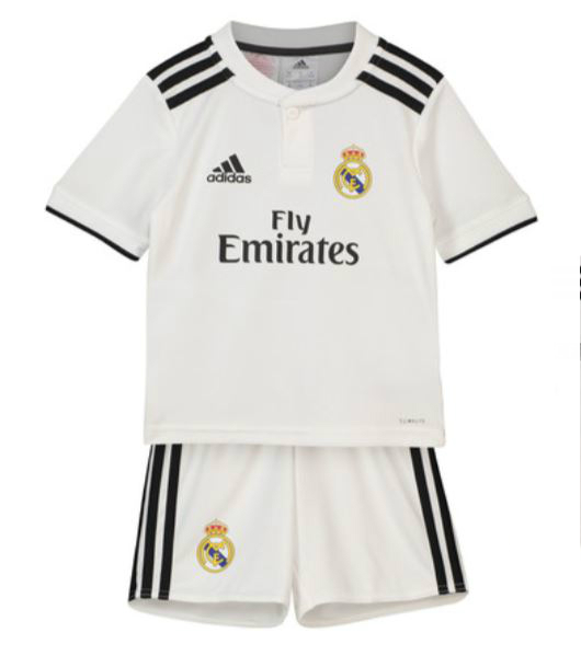 Camiseta cfb3 C1985 Real Madrid 1ª Equipación 2018/19 Kit Junior
