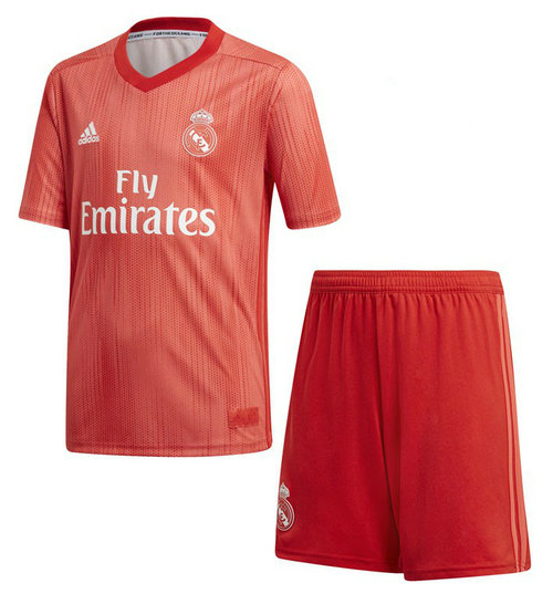 Camiseta cfb3 C1989 Real Madrid 3ª Equipación 2018/19 Kit Junior