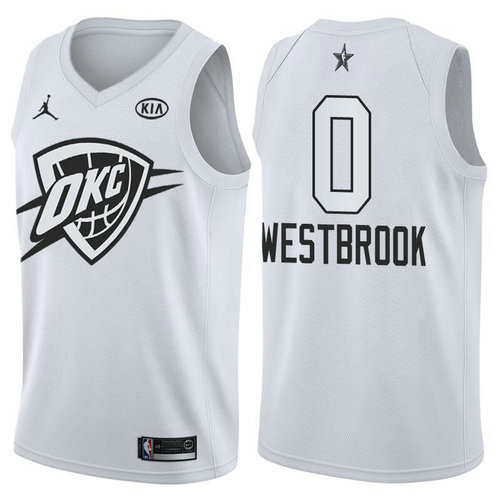 Camiseta cfb3 C080 Russell Westbrook - 2018 All-Star Blanco