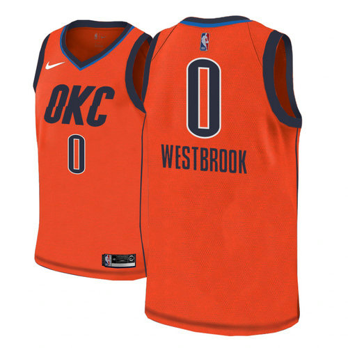 Camiseta cfb3 C637 Russell Westbrook, Oklahoma City Thunder 2018/19 - Earned Edition