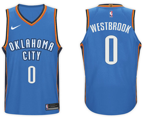 Camiseta cfb3 C642 Russell Westbrook, Oklahoma City Thunder - Icon