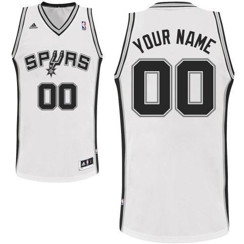 Camiseta cfb3 C755 San Antonio Spurs, Custom [Blanco]