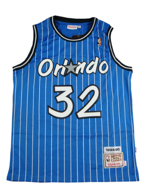 Camiseta cfb3 C653 Shaquille O'Neal, Orlando Magic [Azul]