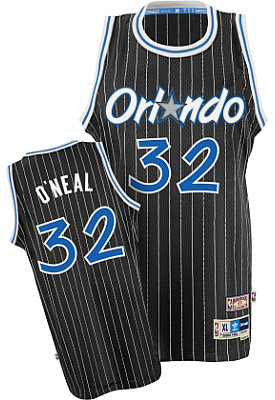 Camiseta cfb3 C654 Shaquille O'Neal, Orlando Magic [Negra]
