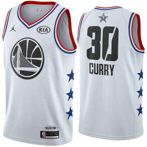 Camiseta cfb3 C085 Stephen Curry - 2019 All-Star Blanco