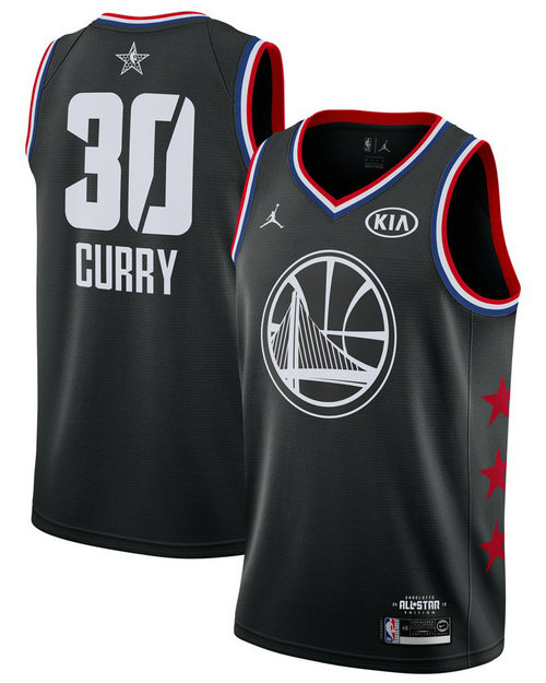 Camiseta cfb3 C086 Stephen Curry - 2019 All-Star Negro