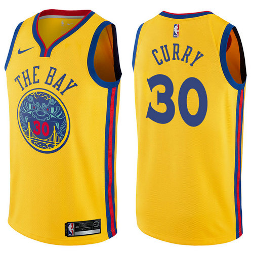 Camiseta cfb3 C319 Stephen Curry, Golden State Warriors - City Edition