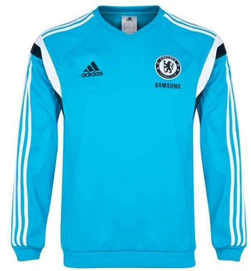 Camiseta cfb3 C1621 Sudadera Chelsea FC - Light blue
