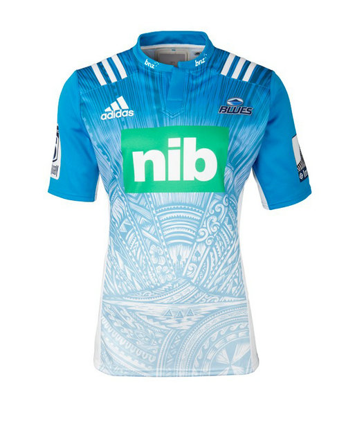 Camiseta cfb3 C2782 Super Rugby Blues Alternate Shirt S/S 2017