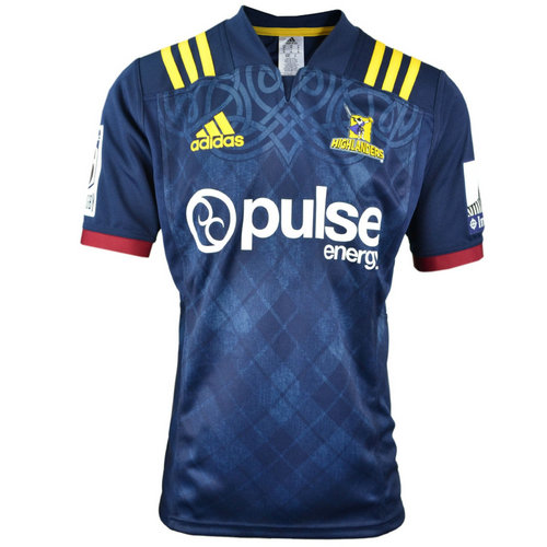 Camiseta cfb3 C2786 Super Rugby Highlanders Shirt S/S 2018