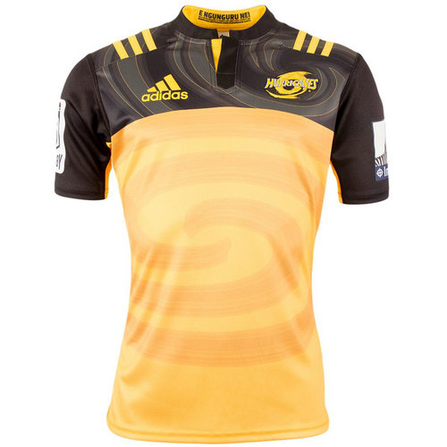 Camiseta cfb3 C2787 Super Rugby Hurricanes Alternate Shirt S/S 2017