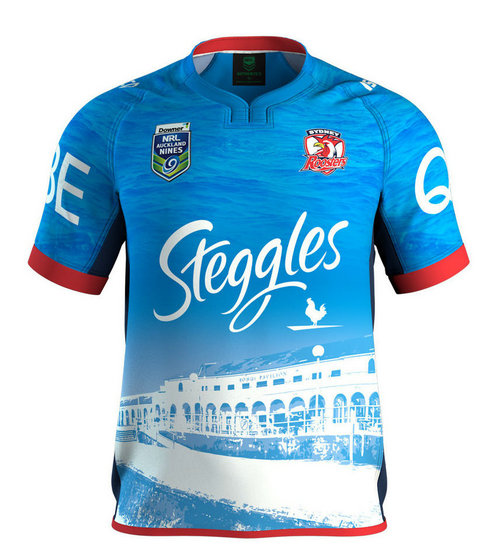 Camiseta cfb3 C2773 Sydney Roosters Nines 2017 - ISC Roosters Auckland