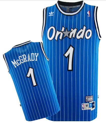 Camiseta cfb3 C655 Tracy McGrady, Orlando Magic [Azul]