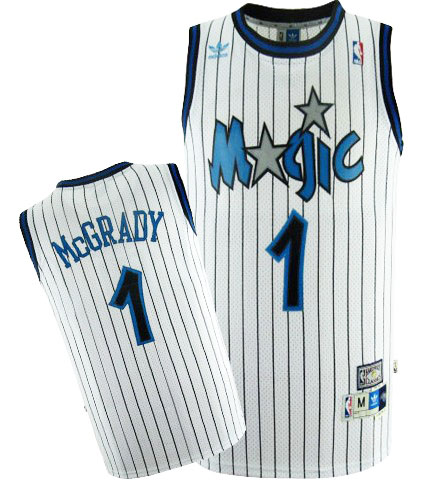 Camiseta cfb3 C656 Tracy McGrady, Orlando Magic [Blanca]