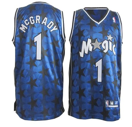 Camiseta cfb3 C657 Tracy McGrady, Orlando Magic [Blue Stars]