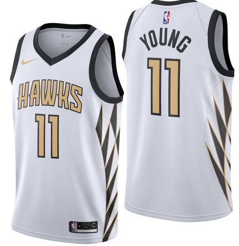 Camiseta cfb3 C095 Trae Young, Atlanta Hawks 2018/19 - City Edition