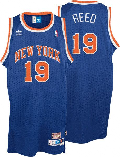 Camiseta cfb3 C618 Willis Reed, New York Knicks [Azul]