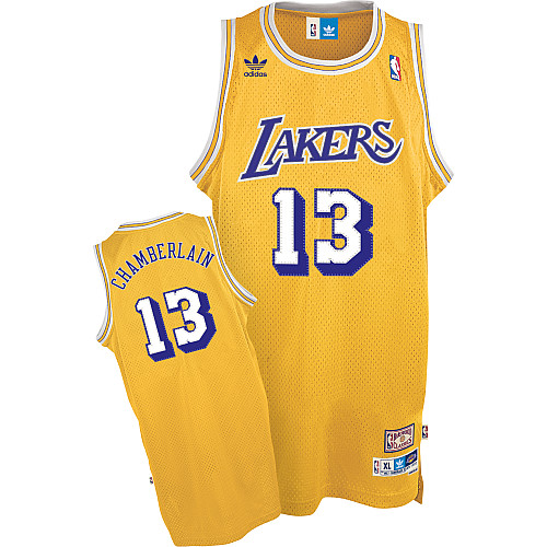 Camiseta cfb3 C461 Wilt Chamberlain, Los Angeles Lakers [Soul Swingman Dorada]