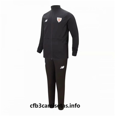 Camiseta cfb3 F023 Chaqueta Chandal Athletic Bilbao Negro 2019/20