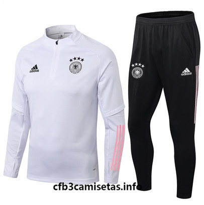 Camiseta cfb3 F020 Chandal Alemania Blanco 2019/20