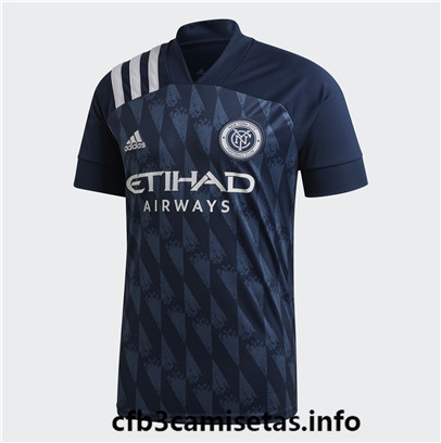 cfb3camisetas 0315107 New York City FC 2ª Equipación 2020/21 baratas